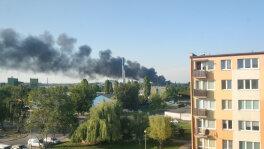 Pożar starej lokomotywowni