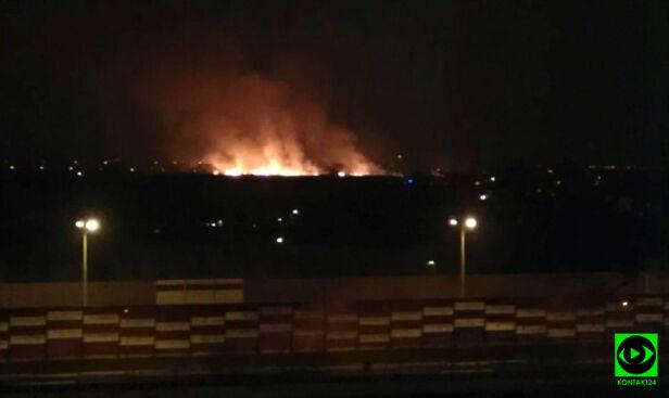 Pożar w Wawrze news-wawer/Kontakt24