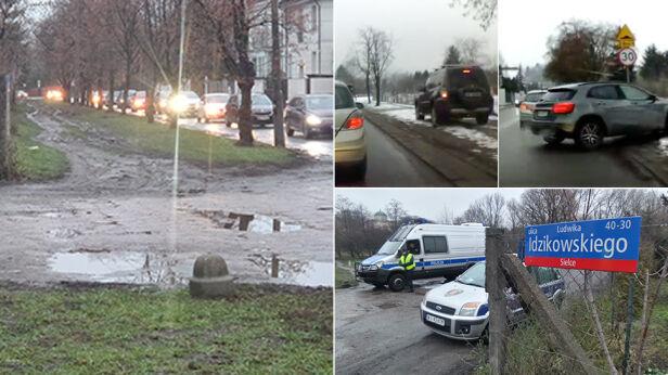 Patrole policji skończyły dziką jazdę na Idzikowskiego tvnwarszawa.pl/ Kontakt 24