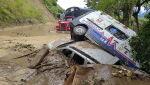 Skutki ulewnych opadów deszczu w Kolumbii (PAP/EPA/Government of Antioquia)