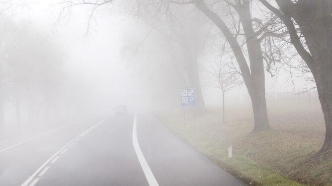 W wielu miastach mgły <br />ograniczają widzialność