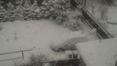 Zima w Sosnowcu
